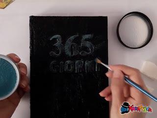 Metallic Lustre deco art per personalizzare la copertina del tuo journaling
