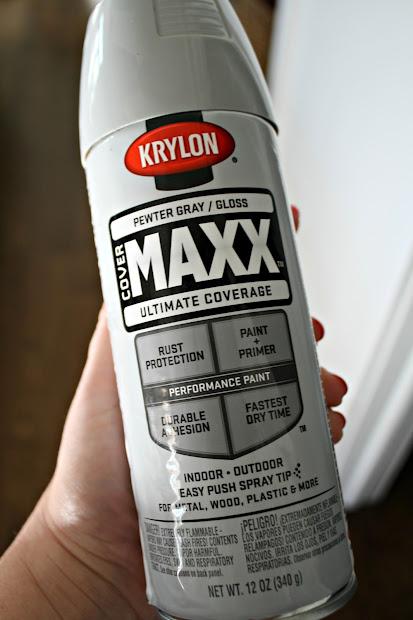 Pewter Gray Krylon Spray-Paint
