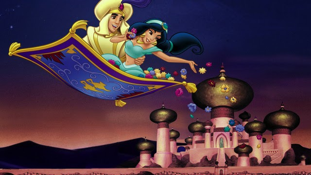 Disney Character Wallpapers - Aladdin And Jasmine