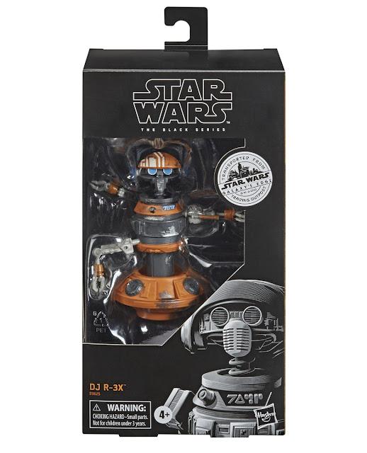 Hasbro's Star Wars The Black Series DJ R-3X Star Wars Galaxy's Edge Target Merchandise