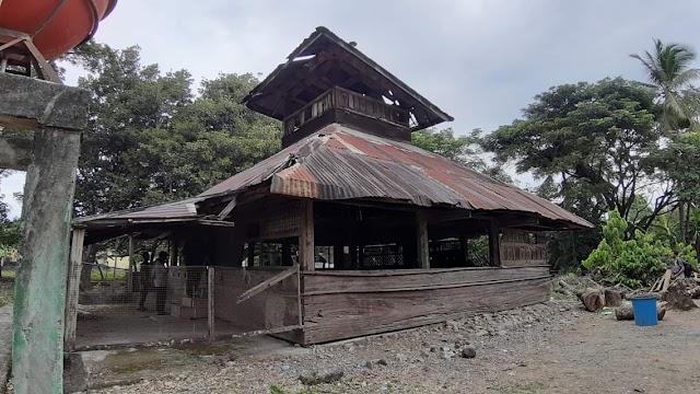 Tiro Memanggil! Kondisi Situs Sejarah (Mesjid Tuha) Teungku Chik di Tiro Mengenaskan