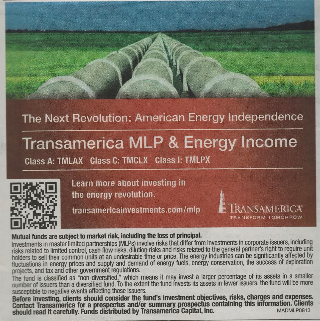 Transamerica MLP & Energy Income Fund (TMLAX): Ad