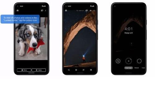 Google phones shoot Night Sight videos