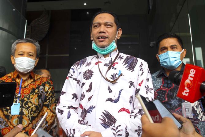 Pimpinan KPK Paparkan '3 Poin Penting' soal TWK ke Ombudsman RI