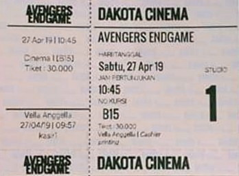 tiket+dakota+cinema+cilacap