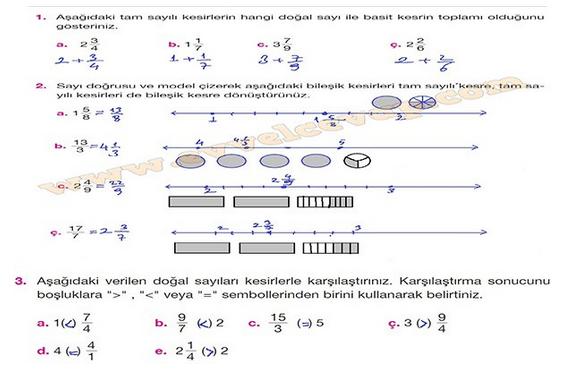 5sınıf özgün Yayınları Matematik Ders Kitabı 163sayfa Cevapları