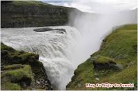 La cascada Gulfoss en el Circulo de Oro, Islandia.