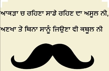 cool unique punjabi quotes status for whatsapp photo and pic