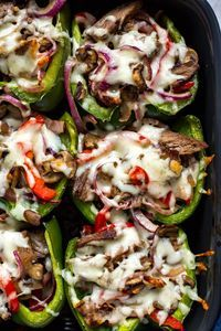 PHILLY CHEESESTEAK STUFFED PEPPERS #philly #cheesesteak #cheese #stuffed #peppers #tasty #tastyrecipes #delicious #deliciousrecipes Desserts, Healthy Food, Easy Recipes, Dinner, Lauch, Delicious, Easy, Holidays Recipe, Special Diet, World Cuisine, Cake, Grill, Appetizers, Healthy Recipes, Drinks, Cooking Method, Italian Recipes, Meat, Vegan Recipes, Cookies, Pasta Recipes, Fruit, Salad, Soup Appetizers, Non Alcoholic Drinks, Meal Planning, Vegetables, Soup, Pastry, Chocolate, Dairy, Alcoholic Drinks, Bulgur Salad, Baking, Snacks, Beef Recipes, Meat Appetizers, Mexican Recipes, Bread, Asian Recipes, Seafood Appetizers, Muffins, Breakfast And Brunch, Condiments, Cupcakes, Cheese, Chicken Recipes, Pie, Coffee, No Bake Desserts, Healthy Snacks, Seafood, Grain, Lunches Dinners, Mexican, Quick Bread, Liquor