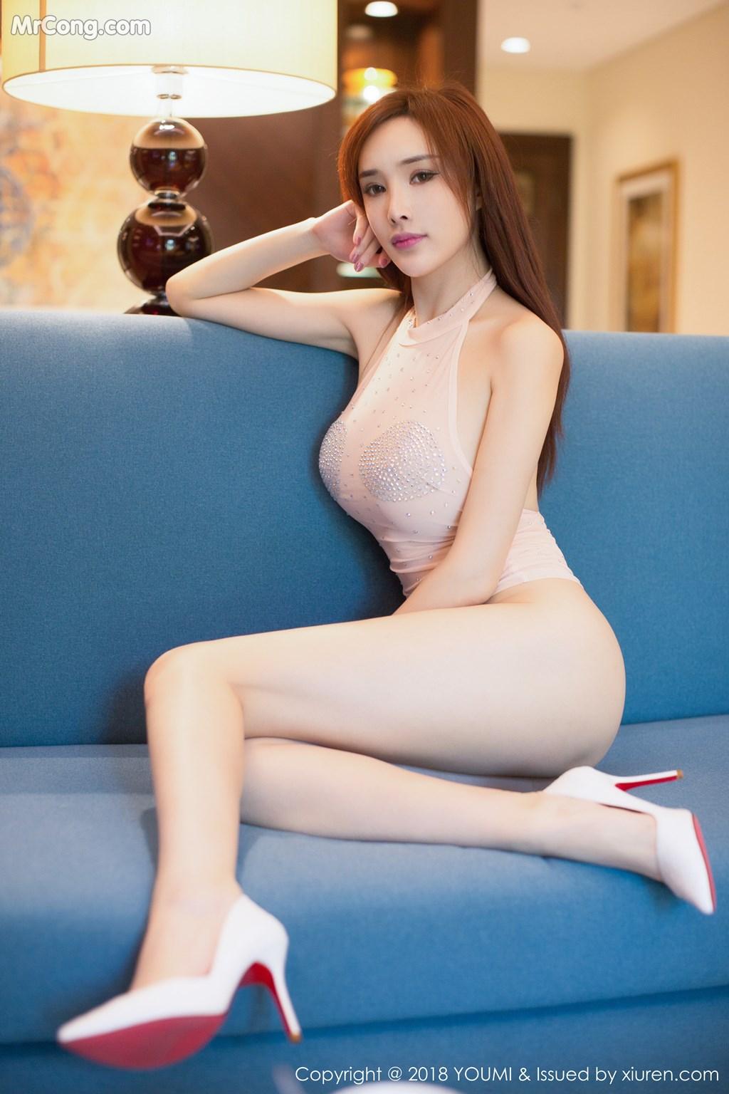 Image YouMi-Vol.112-Tu-Fei-Yuan-Ai-Cuo-Qiong-MrCong.com-005 in post YouMi Vol.112: Người mẫu 土肥圆矮挫穷 (51 ảnh)