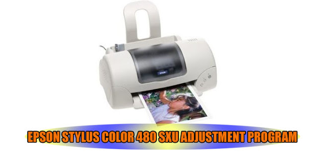 Epson Stylus Color 480 SXU Printer Adjustment Program