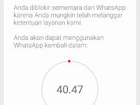Cara Mengatasi Whatsapp Mod yang Diblokir Sementara 2020