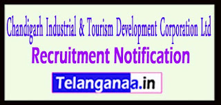 CITCO Chandigarh Industrial Tourism Development Corporation Ltd Recruitment Notification 2017 Last Date 05-05-2017