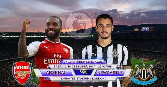 BOLA 365 - Prediksi Arsenal vs Newcastle 16 Desember 2017