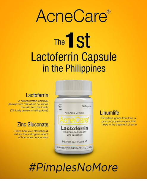 Acnecare with lactoferrin