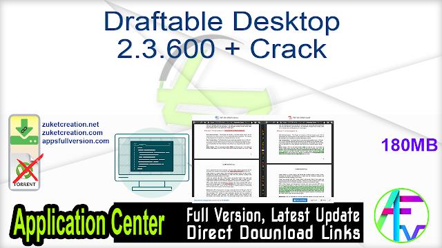 Draftable Desktop 2.3.600 + Crack