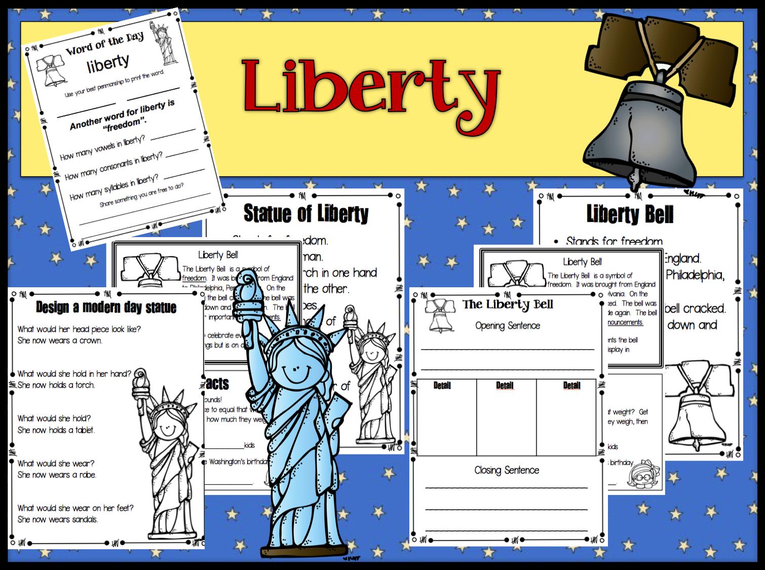 1st Grade Hip Hip Hooray!: American Symbols