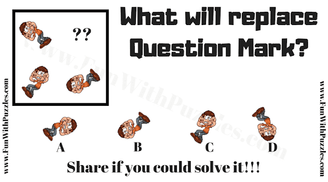 What will replace the question mark?
