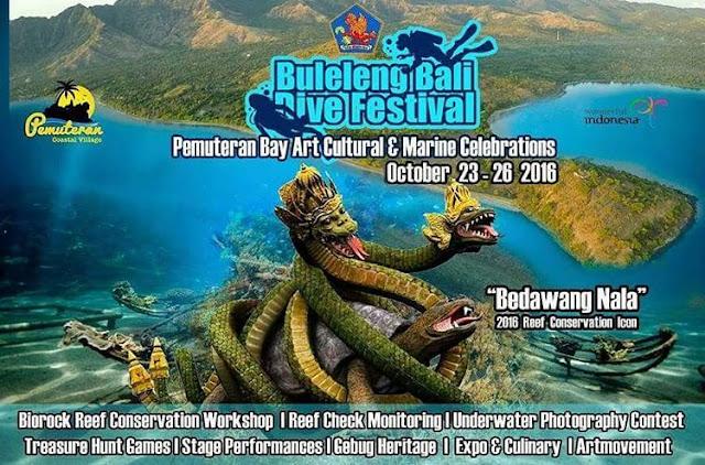 Buleleng Bali Dive Festival 2016 Akan Segera Datang, Ini Dia Infonya, Yuk Ikutan!