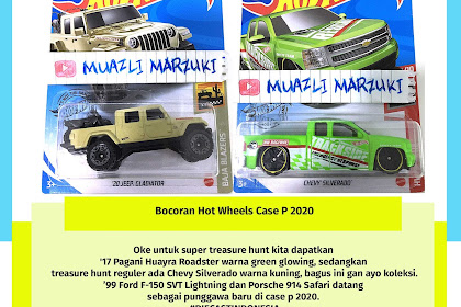 Bocoran Hot Wheels Case P 2020