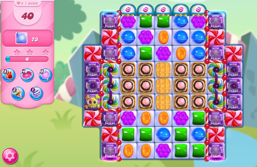 Candy Crush Saga level 8453