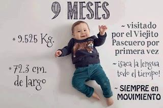 desarrollo del bebe - 9 meses