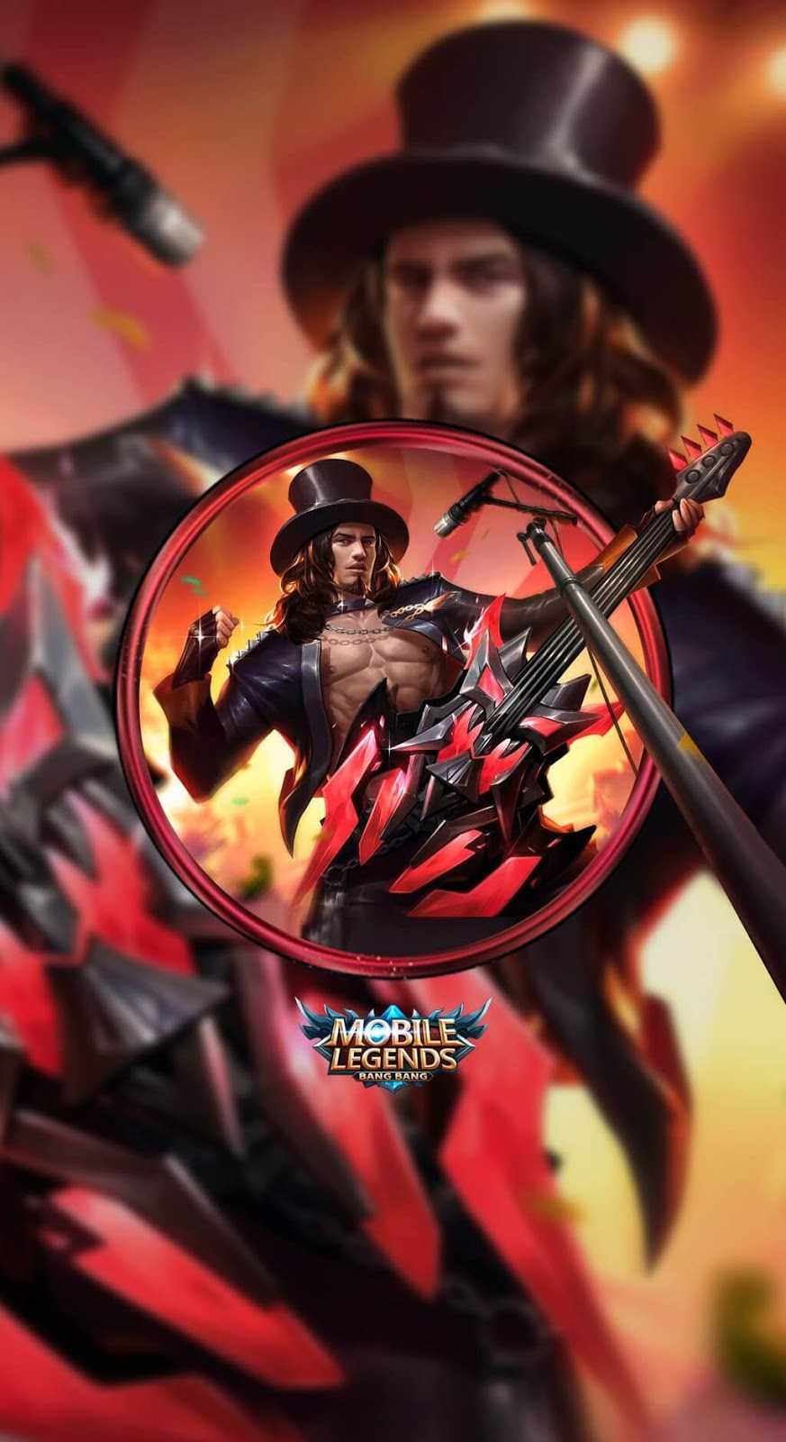 Wallpaper Clint Rock and Roll Skin Mobile Legends HD for Mobile