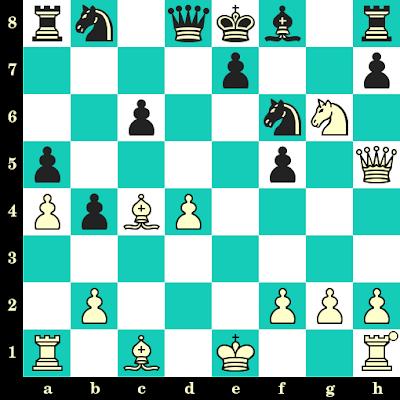 Les Blancs jouent et matent en 2 coups - Octav Troianescu vs Lhagvasuren, Oulan-Bator, 1956