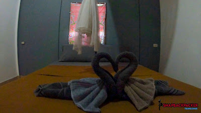 Swan On Bed