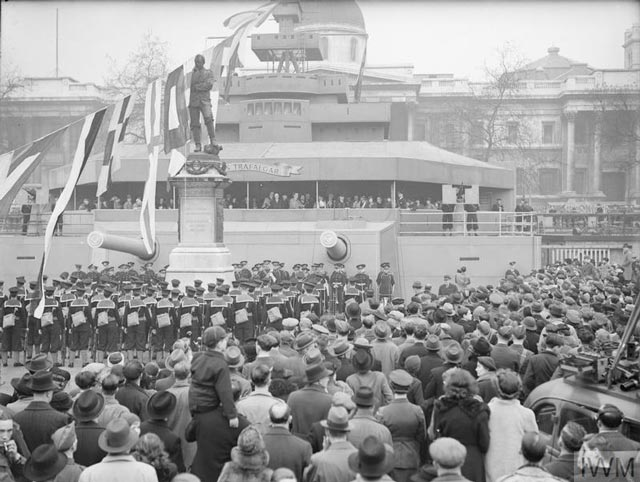 Opening Ceremony of Warship Week, 21 March 1942 worldwartwo.filminspector.com