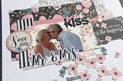 The Kiss tracee provis papermaze echo park just married 03