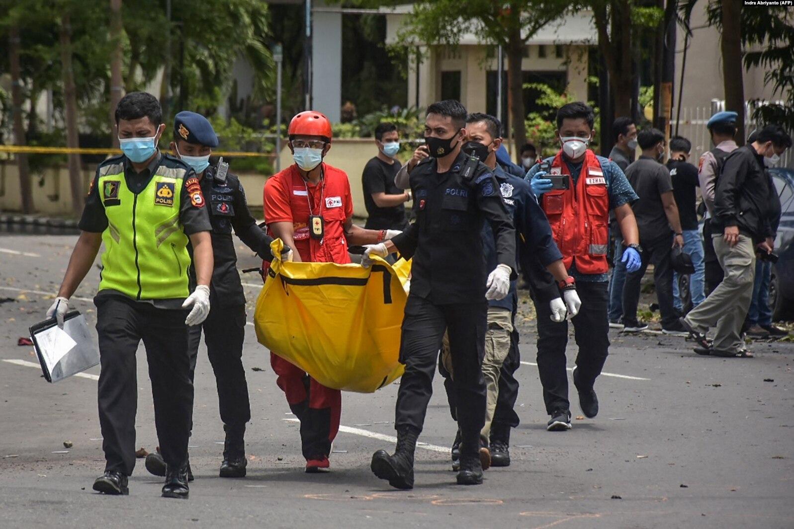 Presiden Kutuk Keras Aksi Terorisme di Depan Gereja Katedral Makassar
