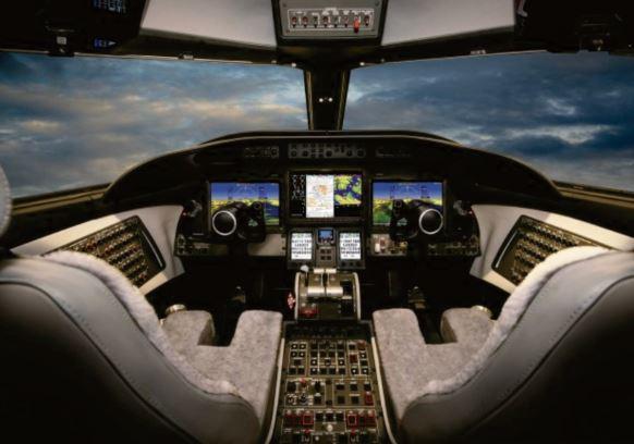 Bombardier Learjet 75 cockpit