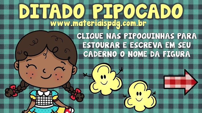 DITADO PIPOCADO - FESTA JUNINA - ATIVIDADE ONLINE