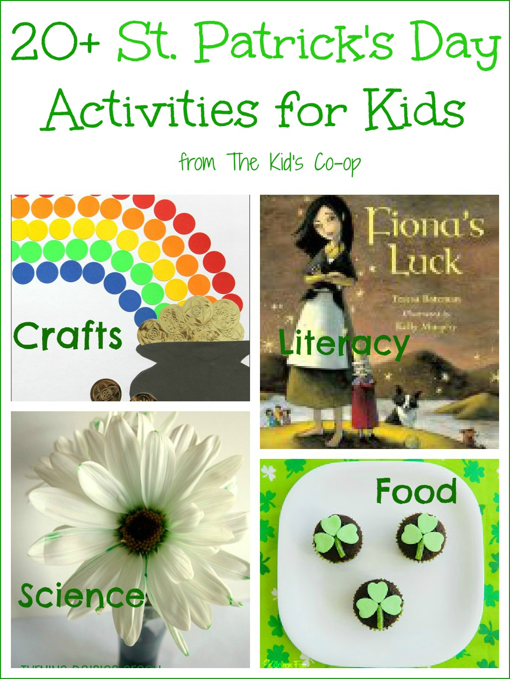 20 St Patrick S Day Activities Kid S Co Op Reading