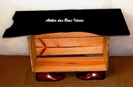 rack caixote de feira