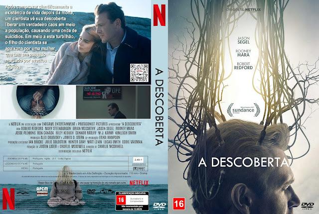 Capa DVD A Descoberta [Custom]