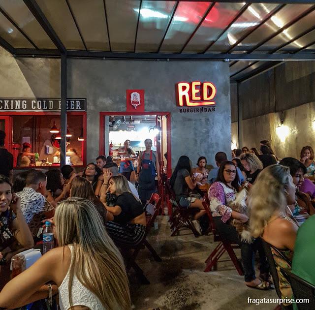 Hamburgueria Red Burger N Bar, Salvador