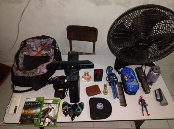 Em Senador Rui Palmeira, polícia apreende menor de 16 anos por furto