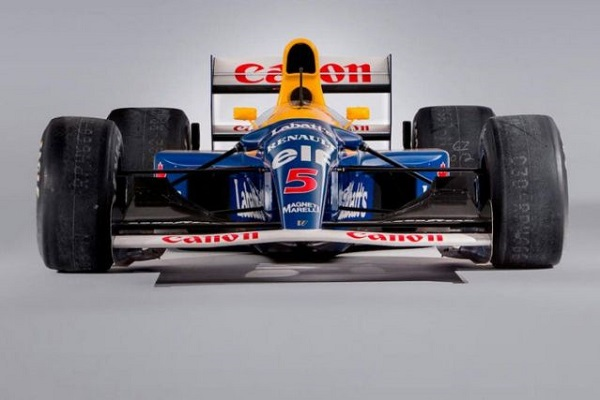 Sebastian Vettel Williams FW14B 1992 de Nigel Mansell