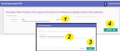 gambar verval mapel PKP sim pkb