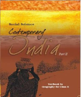 CLASS 10:-CONTEMPORARY INDIA-2 BY NCERT