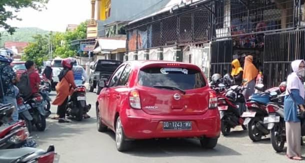 Jelang Lebaran Jalan KH Hayyung Benteng Selayar Rawan Macet, Ini Himbauan Kasat Lantas