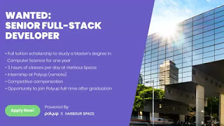 Scholarship Opportunity Full Stack Developer