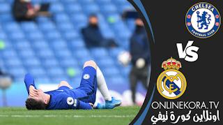 أخبار فريق تشيلسي: الإصابات وقائمة الإيقافات ضد ريال مدريد يوم 05-05-2021 في إياب نصف نهائي دوري أبطال أوروبا، اونلاين كورة