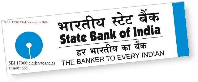 Jobs_Eligibility-SBI 17000 clerk vacancies