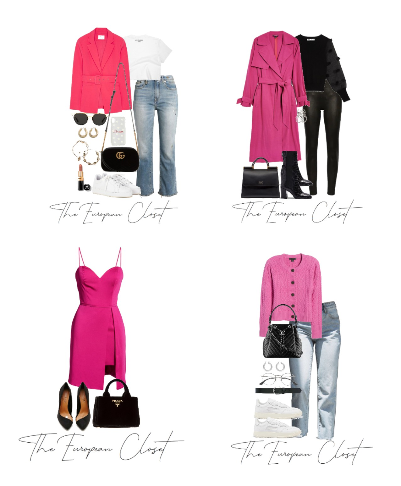 How To Style Hot Pink For A/W