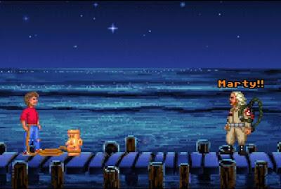 Los protagonistas de Regreso al futuro en Monkey Island
