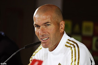 Zinedine #Zidane says he would QUIT Real #Madrid if he felt bosses didn't back him