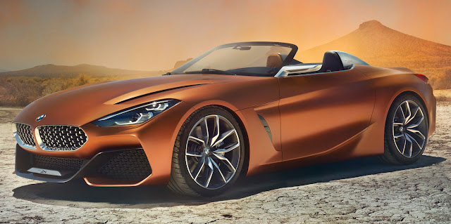 BMW、新型「Z4」を示唆するコンセプトカー「コンセプトZ4」を発表!